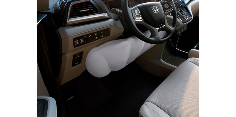 airbag delanterior rodilla