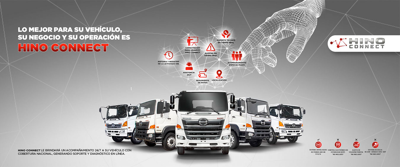 hino connect